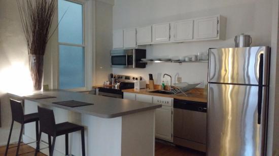 The Haus: kitchen