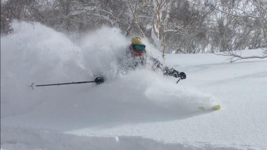 Sweet Hokkaido powder snow! - ...
