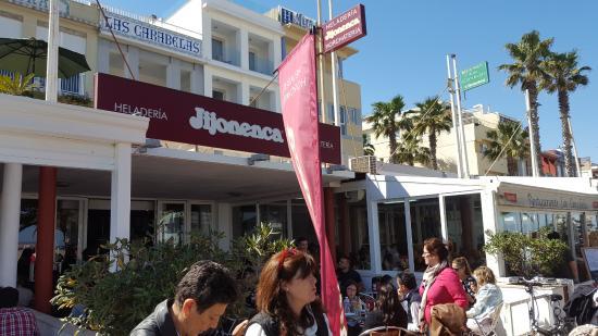 Playa de La Malvarrosa: Otra heladería