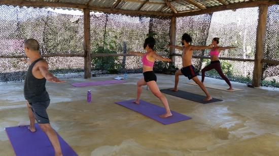 El Sabanero Eco Lodge: Great yoga space!