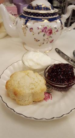 Fallbrook, Califórnia: Scones and tea