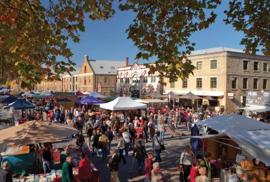 Tasmania, Australia: Salamanca Market
