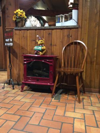 Angel's Restaurant: Charme e aconchego.