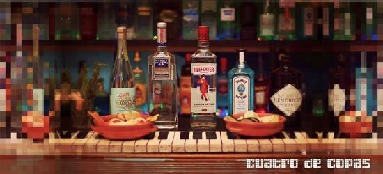 Cuatro de Copas: gin tonics
