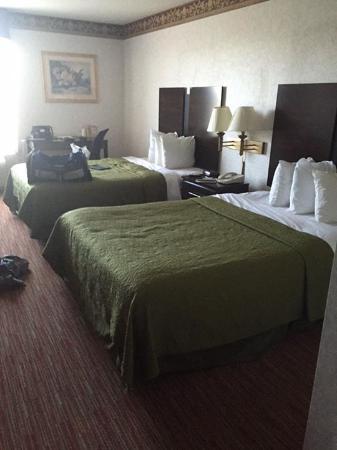 Quality Inn: Clean Room and big