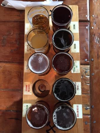 "Klamath Basin Brewing Company: Ordering the ""flight"" was well worth it"