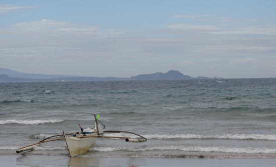 Huts at Katungkulan Beach Picture of Marine Base Ternate Beach