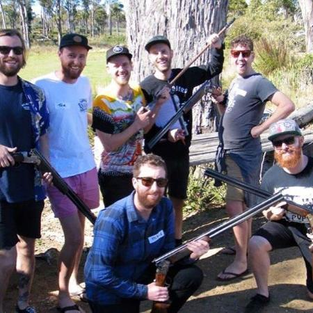 Tasmanien, Australien: Clay target shooting