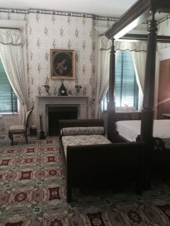 "Natchez, MS: Upstairs bedroom with a ""French bed"" for napping during the day"