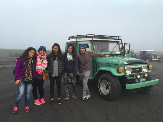 BROMOIJEN Tour Transport