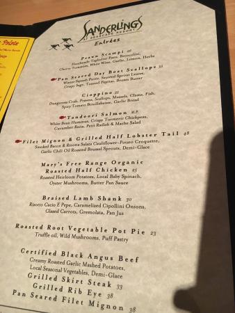 Sanderlings Restaurant