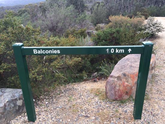 Grampians, Australia: 1km walk from the parking area