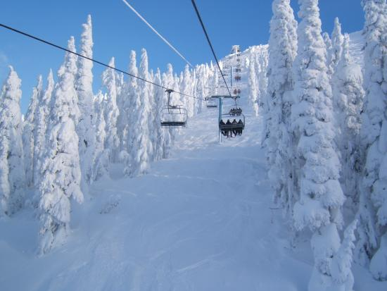 Mount Washington, Canadá: Eagle chair lift