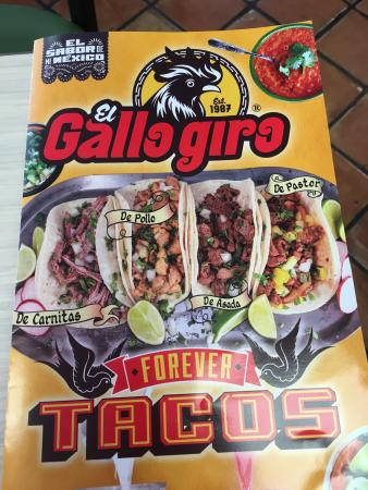 Huntington Park, CA: El Gallo Giro