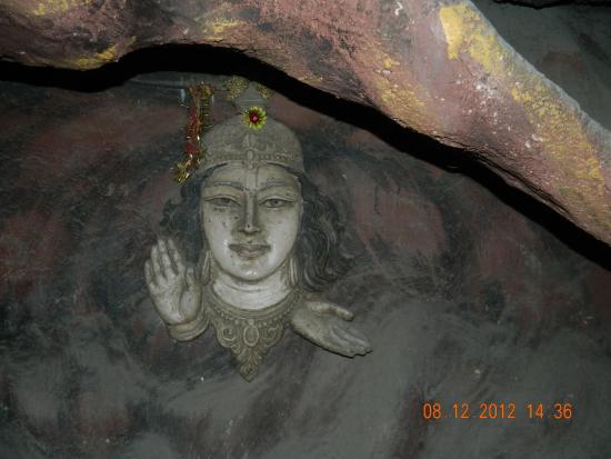 Hotel Ganges Rivera: bharat mata temple