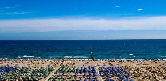 Hotel Zenith: il mare di Rivazzurra