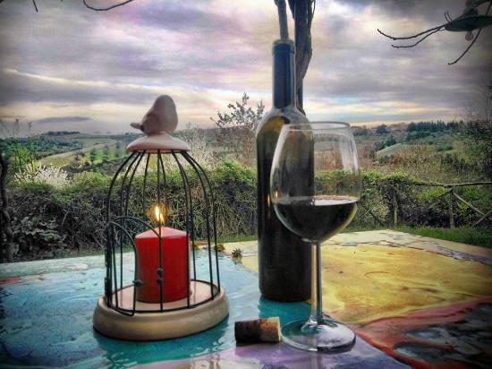 Agriturismo La Volpe e l'Uva : relax con vista