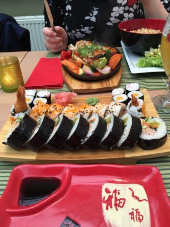 Lummen, Belgique : Sushi