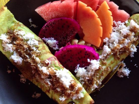 soulshine bali: Soulshine Pancakes - Happiness on a Plate!