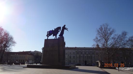 Gediminas Monument