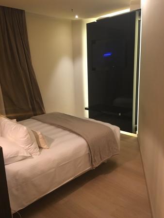 Bon Hotel mais Chambre bizarre