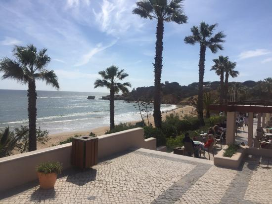 walk down to the beach from the hotel picture of grande real santa rh tripadvisor co uk