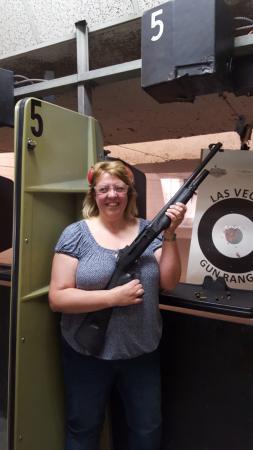 Las Vegas Gun Range & Firearm Center: The massive Tactical Shot Gun