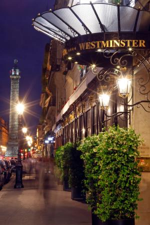 Hotel Westminster: The Westminster hotel facade
