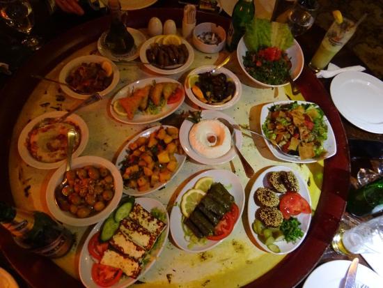 mezze - Picture of Taboula Lebanese Restaurant, Cairo - Tripadvisor