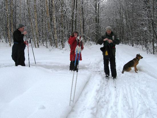 Kostroma Oblast, Russia: Лажная прогулка с глинтвейном