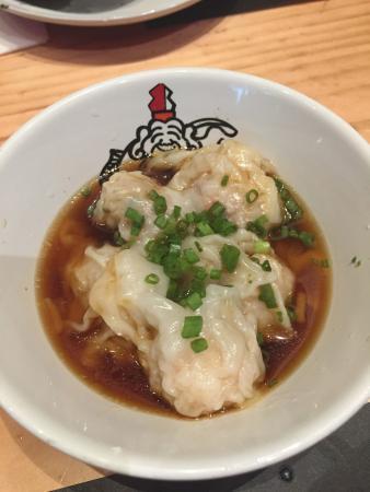 Ikkoryu Fukuoka Ramen: Ebi wontons (a must-try!)