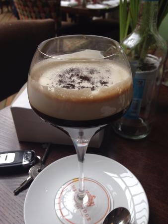 Wentbridge, UK: Irish coffee mmmm