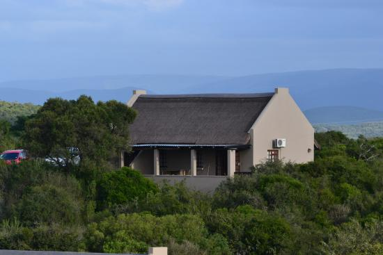Addo Rest Camp: Exterior of the semi detached chalet