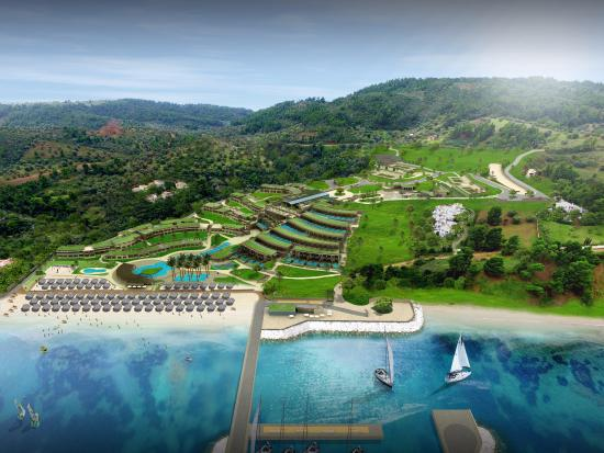 Paliouri, Greece: Miraggio Air View