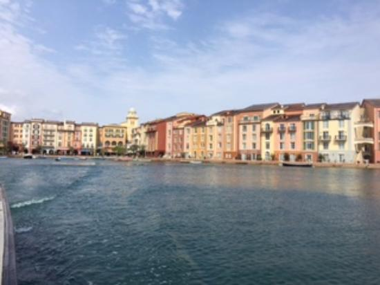 afternoon photo from water taxi loews portofino bay hotel at rh tripadvisor com