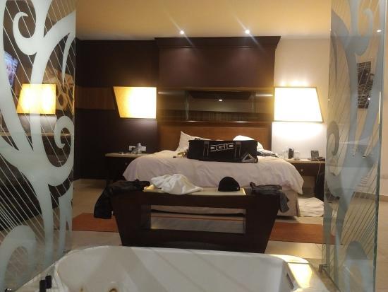 Hard Rock Hotel U0026 Casino Punta Cana: Hot Tub And Bed In Suite