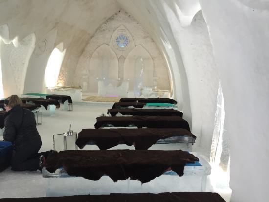 Hotel de glace picture of hotel de glace quebec city tripadvisor - Date des saint de glace 2017 ...