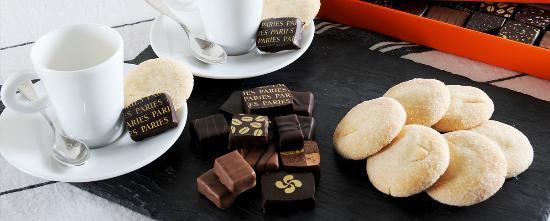 Confiserie Paries : Chocolats et Macarons
