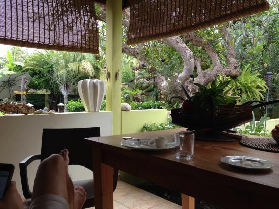 Villa L'Orangerie: Terrace Sono appartment