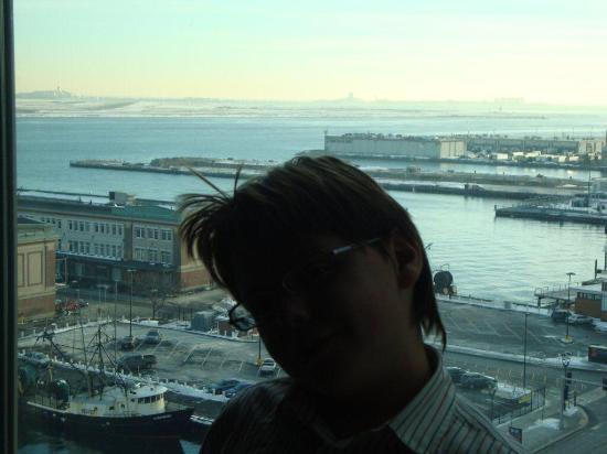 Seaport Boston Hotel: Vista mare