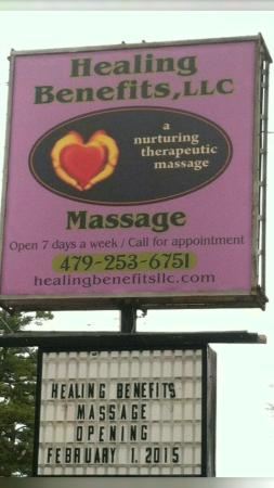 Healing Benefits Massage Therapy LLC.