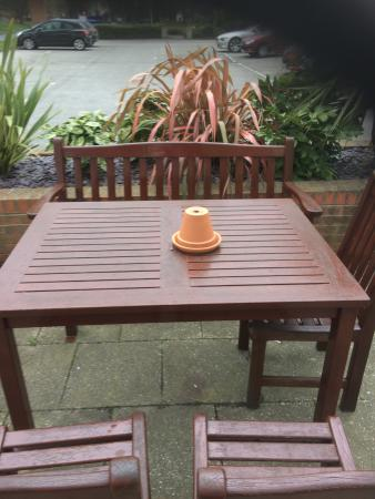 all our garden benches are painted and waiting for you to join us rh tripadvisor co uk