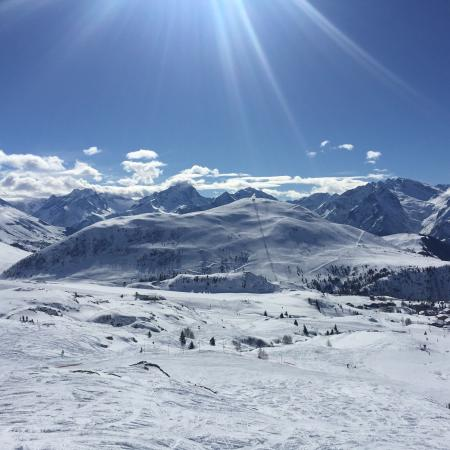 Alpe d'Huez Grand Domaine Ski : Île au Soleil