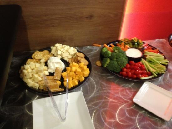 dave buster s snacks on our buffet table picture of dave rh tripadvisor ca