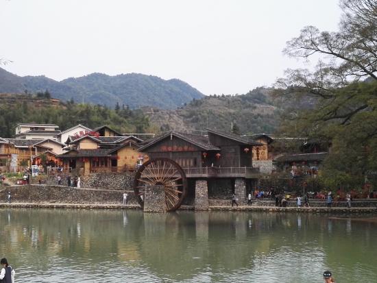 Yun Shui Yao Ancient Town: the movie set