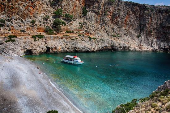 Kolymbari, กรีซ: Eva Cruises στις Μένιες