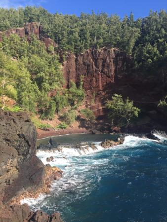 Hana, HI: Red Sand beach