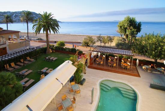 Vistas picture of hotel terraza roses tripadvisor for Terrazas easy 2016