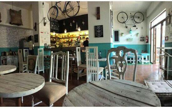 café vintage el desván マラガ cafe vintage el desvanの写真