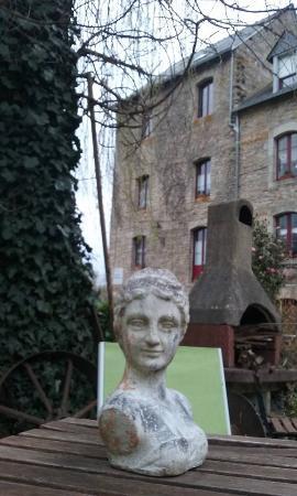 Bohal, France : jardin